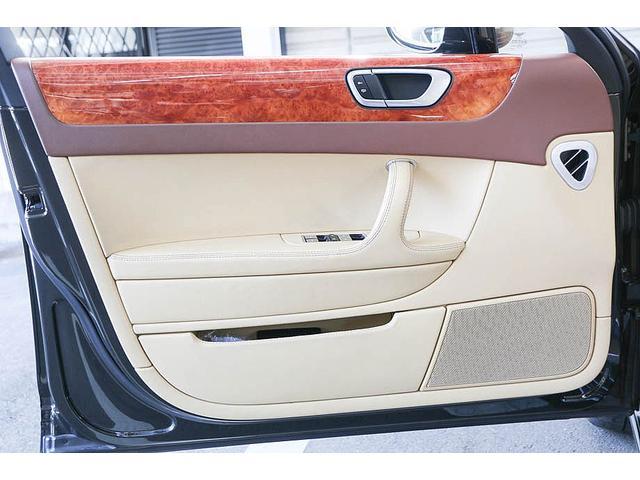 フライングスパー マイナーチェンジ後モデル 後期マンソリーエアロ/LEDライト付Fスポイラー Sスカート Rスカート グリル トランクスポイラー マフラーカッター/ 全席シートヒーター・クーラー Bluetooth接続(34枚目)