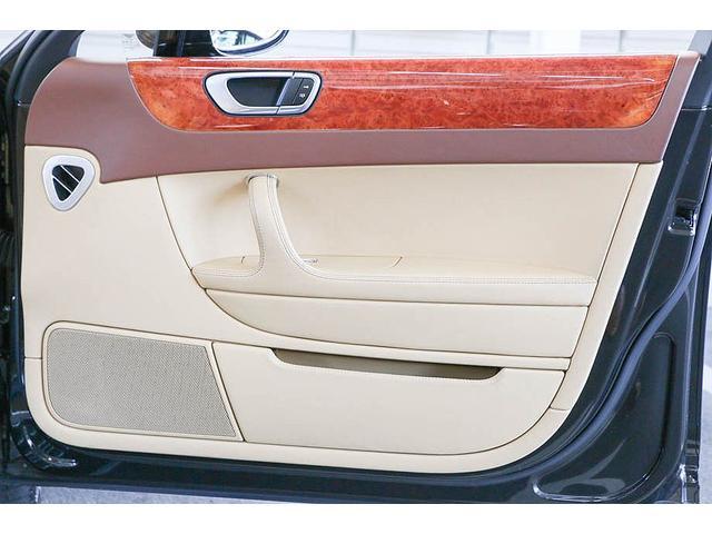 フライングスパー マイナーチェンジ後モデル 後期マンソリーエアロ/LEDライト付Fスポイラー Sスカート Rスカート グリル トランクスポイラー マフラーカッター/ 全席シートヒーター・クーラー Bluetooth接続(37枚目)
