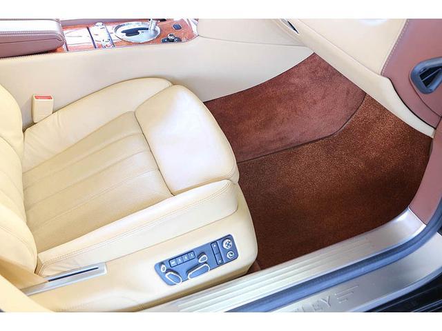 フライングスパー マイナーチェンジ後モデル 後期マンソリーエアロ/LEDライト付Fスポイラー Sスカート Rスカート グリル トランクスポイラー マフラーカッター/ 全席シートヒーター・クーラー Bluetooth接続(38枚目)