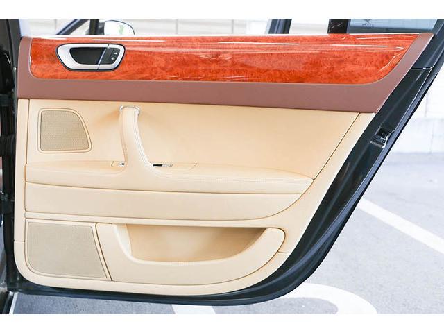 フライングスパー マイナーチェンジ後モデル 後期マンソリーエアロ/LEDライト付Fスポイラー Sスカート Rスカート グリル トランクスポイラー マフラーカッター/ 全席シートヒーター・クーラー Bluetooth接続(40枚目)