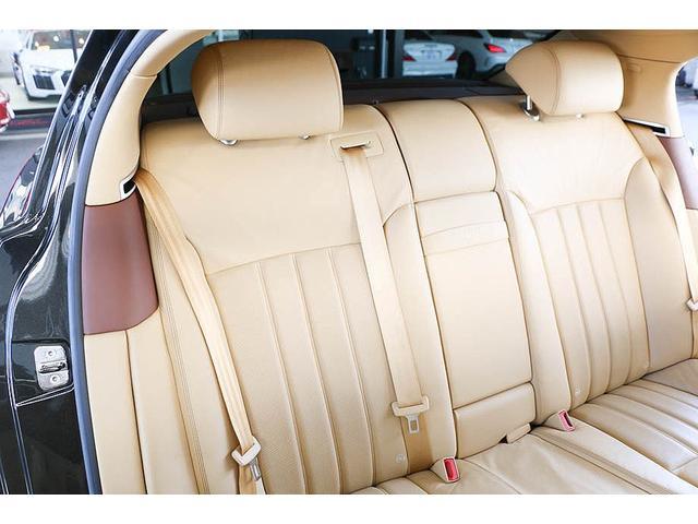 フライングスパー マイナーチェンジ後モデル 後期マンソリーエアロ/LEDライト付Fスポイラー Sスカート Rスカート グリル トランクスポイラー マフラーカッター/ 全席シートヒーター・クーラー Bluetooth接続(44枚目)