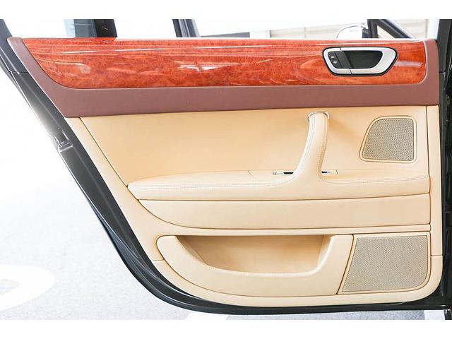 フライングスパー マイナーチェンジ後モデル 後期マンソリーエアロ/LEDライト付Fスポイラー Sスカート Rスカート グリル トランクスポイラー マフラーカッター/ 全席シートヒーター・クーラー Bluetooth接続(45枚目)