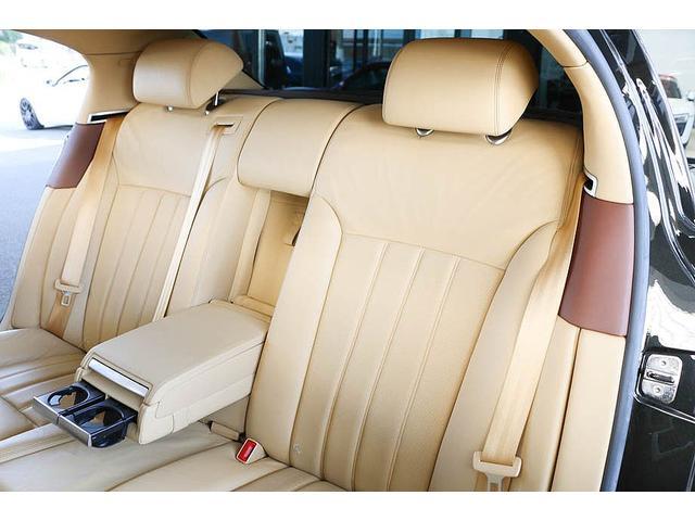 フライングスパー マイナーチェンジ後モデル 後期マンソリーエアロ/LEDライト付Fスポイラー Sスカート Rスカート グリル トランクスポイラー マフラーカッター/ 全席シートヒーター・クーラー Bluetooth接続(49枚目)