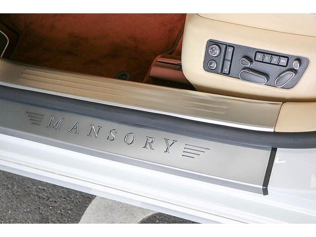 フライングスパー 正規ディーラー車 4人乗り マンソリーエアロ(フロント・サイド・リア)マンソリー22インチホイール SR ブラウン/ベージュツートンレザーインテリア インターフェイス装着(フルセグTV・バックカメラ)(69枚目)