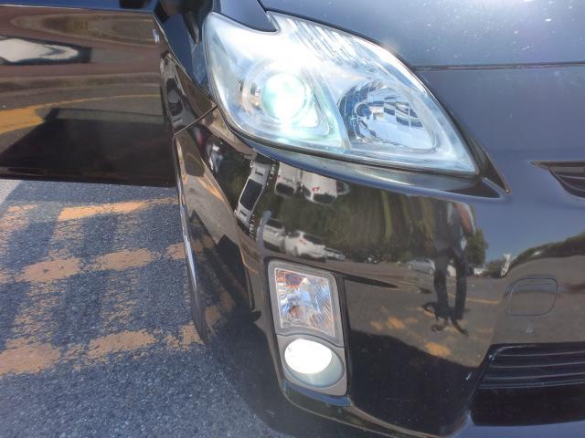 トヨタ プリウス S 1オーナー 社外ナビ フルセグ 革シートカバー ETC