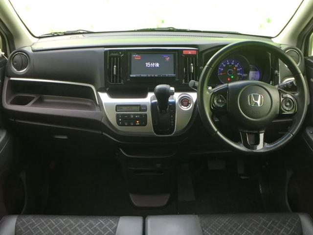 G・ターボパッケージ 社外 7インチ メモリーナビ/ヘッドランプ LED/EBD付ABS/横滑り防止装置/アイドリングストップ/TV/エアバッグ 運転席/エアバッグ 助手席/アルミホイール/パワーウインドウ ワンオーナー(4枚目)