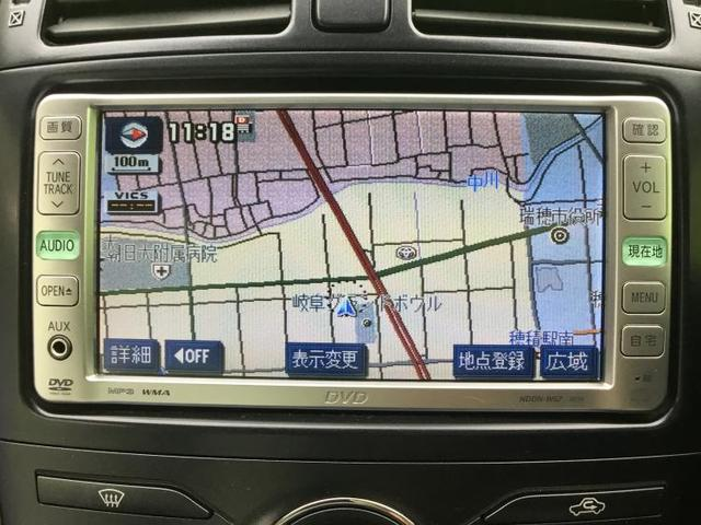G 純正 HDDナビ/シート ハーフレザー/EBD付ABS/横滑り防止装置/エアバッグ 運転席/エアバッグ 助手席/エアバッグ サイド/アルミホイール/パワーウインドウ/キーレスエントリー/オートエアコン(9枚目)
