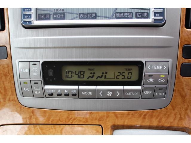 トヨタ アルファードG AX L-ED 禁煙車 HDDナビ サンルーフ 電動ドア