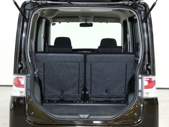 後部座席を立てている状態でも荷室は広く作られています!