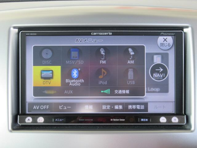 DVD再生、くっきりフルセグTV、Bluetooth機能、音楽録音機能