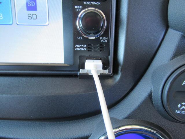 USB接続できます!スマートフォンから音楽が再生できます!