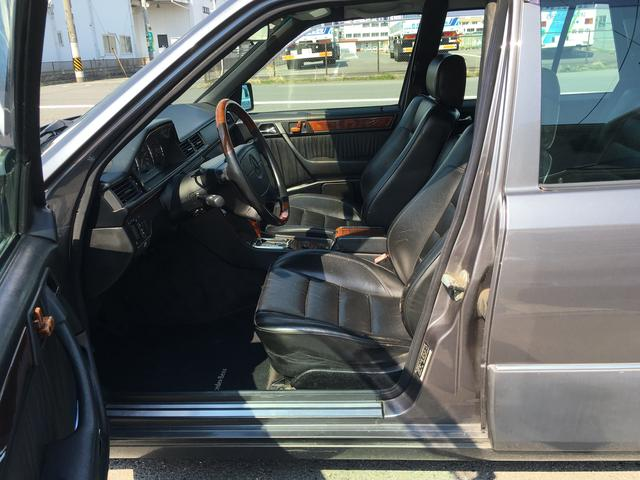 メルセデス・ベンツ M・ベンツ E320ステーションワゴン 車高調新品 皮シート サンルーフ
