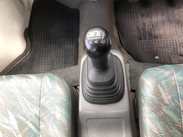 KU 4WD エアコン フロア5速マニュアル(15枚目)
