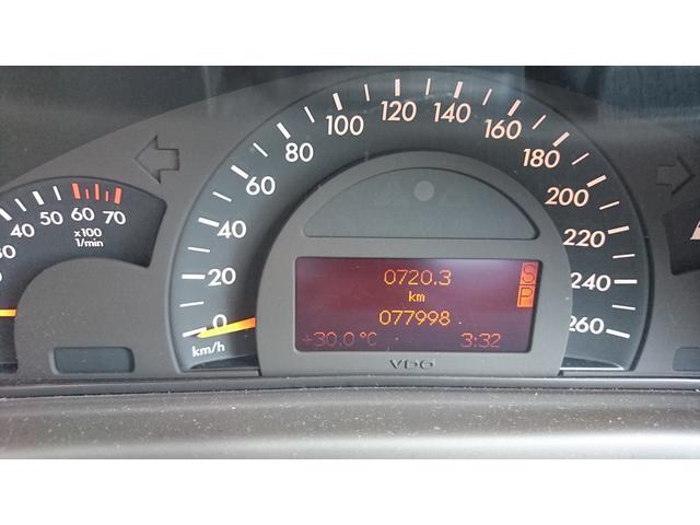 メルセデス・ベンツ M・ベンツ C240ステーションWローダウン AMGエアロ