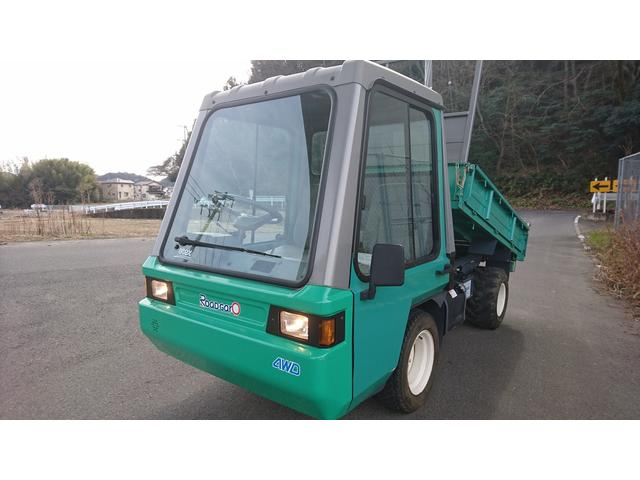 日本その他 日本 アテックス ロードガロ 4WDダンプ農作業建設作業 小型特殊
