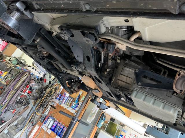 PZターボ4WD ヒッチ 牽引車登録済 リビルトターボ交換済(6枚目)