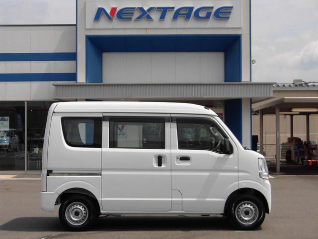 日産 NV100クリッパーバン DX ハイルーフ 両側スライドドア ヘッドライトレベライザー