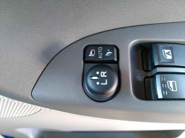 【リモート機能付!電動格納式ドアミラー】ドアの解錠・施錠時に自動的にミラーが開きます!今まで手動でミラーを開いていた方!わざわざボタンを押していた方!そのヒト手間を無くしてみませんか?