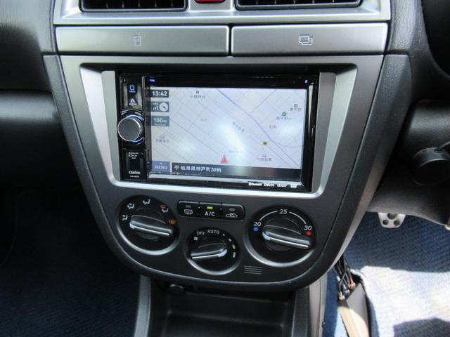 スバル インプレッサ WRX STi D型 社外ナビ バックモニター ETC