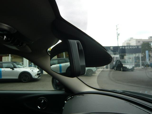 クーパー クラブマンペッパーBカメラセンサー17黒アロイ PEPPERパッケージ リアビューカメラ フロントリアPDC パーキングアシスト 自動防眩ドアミラー スルーローディングシステム MINIドライビングモード 17インチネットスポーク黒アロイホイール(35枚目)
