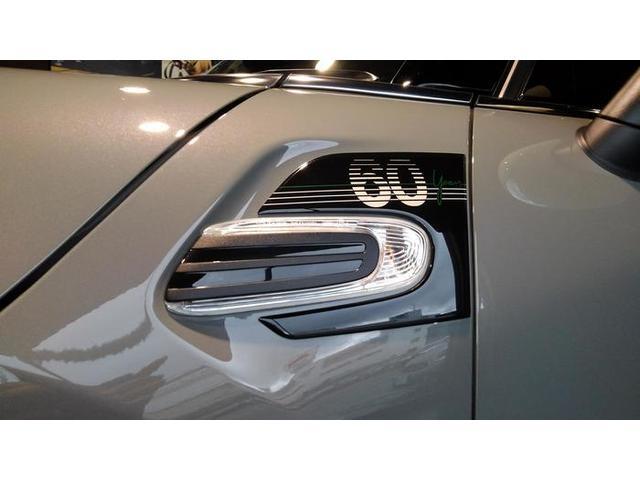 クーパーD クロスオーバーペッパーLED18ピンスポークAW ホワイト ボンネット・ストライプ クロームライン エクステリア カラーライン・サテライト・グレイ フロントシート ヒーティング LEDヘッドライト・フォグライト 18インチ ブラックピンスポーク(66枚目)