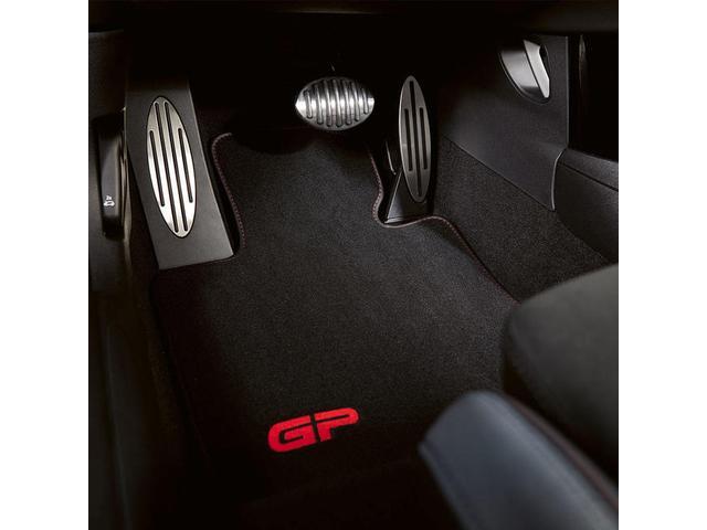 クーパーD クロスオーバーペッパーLED18ピンスポークAW ホワイト ボンネット・ストライプ クロームライン エクステリア カラーライン・サテライト・グレイ フロントシート ヒーティング LEDヘッドライト・フォグライト 18インチ ブラックピンスポーク(74枚目)