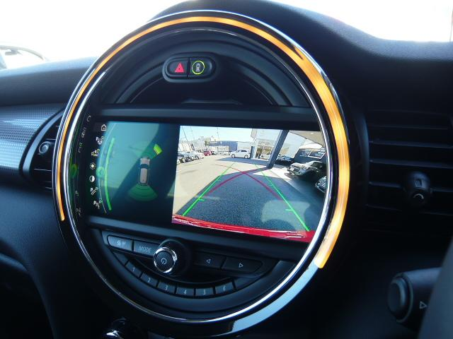 クーパーD3ドアペッパーカメラ&パーキングアシストLED灯 コンフォートアクセス・ストレージコンパートメント・エキサイトメントPKG・ライトPKG・リアビューカメラ・パーキングアシスト・フロントリアPDCパークディスタンスコントロール・LEDヘッドライト(16枚目)