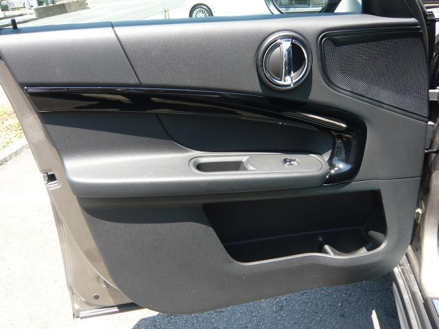 クーパーD クロスオーバー社外シートヒーター車検整備NEXT ペッパーパッケージ 18インチブラックピンスポーク ブラックルーフ&ミラーキャップ LEDヘッドライト(アダプティブ)&フォグライト 断熱フィルムBセット ブラックボンネットストライプ(27枚目)