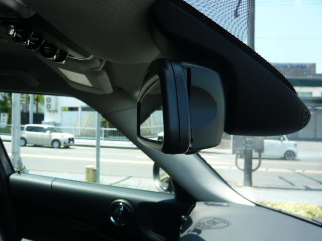 クーパーD クロスオーバー社外シートヒーター車検整備NEXT ペッパーパッケージ 18インチブラックピンスポーク ブラックルーフ&ミラーキャップ LEDヘッドライト(アダプティブ)&フォグライト 断熱フィルムBセット ブラックボンネットストライプ(35枚目)