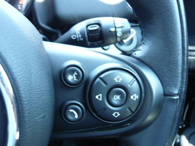クーパーD クロスオーバー社外シートヒーター車検整備NEXT ペッパーパッケージ 18インチブラックピンスポーク ブラックルーフ&ミラーキャップ LEDヘッドライト(アダプティブ)&フォグライト 断熱フィルムBセット ブラックボンネットストライプ(40枚目)