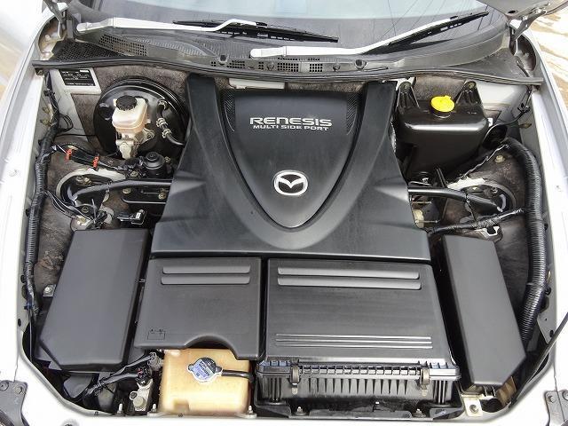 マツダ RX-8 ベースグレード 内張トゥルーレッドスタイル仕様 社外ウイング