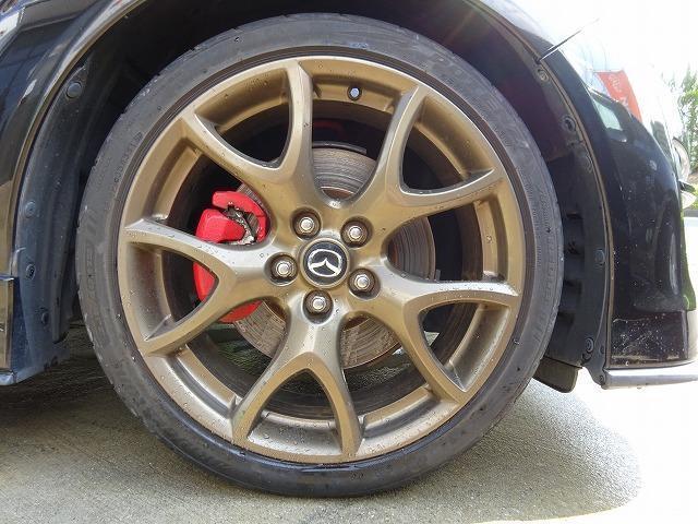 スピリットR 最終モデル 6MT フルノーマル アドバンスドキー 専用カラー純正19インチアルミホイール 純正装着タイヤ 専用純正RECAROシート ETC タイヤ BRIDGESTONE POTENZA8分山(19枚目)