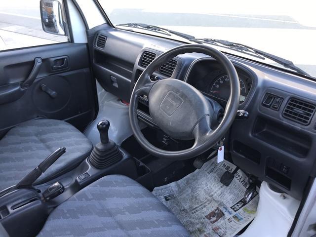 ダンプ 4WD 5速MT エアコン パワステ(20枚目)