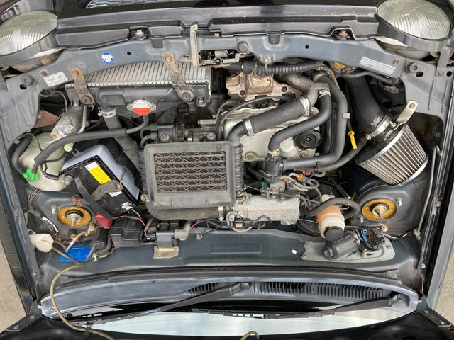 ターボie/s 新品車高調 新品タイヤ HIDヘットライト(11枚目)