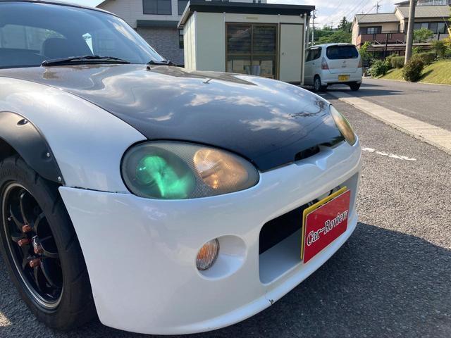 ベースグレード 社外マフラー 社外アルミ15インチ ブリッツ車高調 ブースト計 社外HIDヘットライト(6枚目)