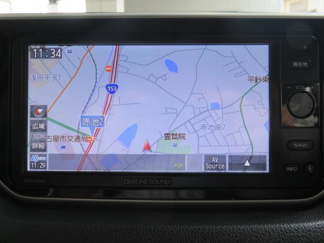 カスタム X ハイパーSAII SAII SDメモリーナビ フルセグ CD・DVD再生 Bluetooth バックカメラ ETC スマートキー LEDヘッドライト ワンオーナー(10枚目)