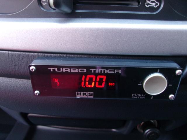 4WD TチェーンICターボ レカロシート 禁煙車 HKS(13枚目)