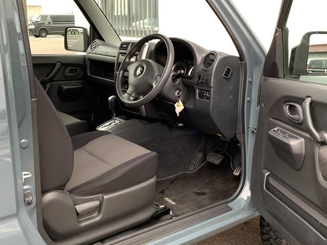 XC Jeep純正アンヴィル 3インチリフト カスタム車 ショートバンパー スキッドプレート ナンバー移動 MTタイヤ 左出しマフラー フェンダーミラー&リヤドアスムージング フェンダーミラー車検対策済(17枚目)