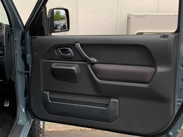 XC Jeep純正アンヴィル 3インチリフト カスタム車 ショートバンパー スキッドプレート ナンバー移動 MTタイヤ 左出しマフラー フェンダーミラー&リヤドアスムージング フェンダーミラー車検対策済(19枚目)