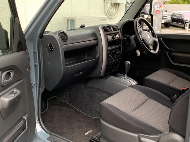 XC Jeep純正アンヴィル 3インチリフト カスタム車 ショートバンパー スキッドプレート ナンバー移動 MTタイヤ 左出しマフラー フェンダーミラー&リヤドアスムージング フェンダーミラー車検対策済(20枚目)