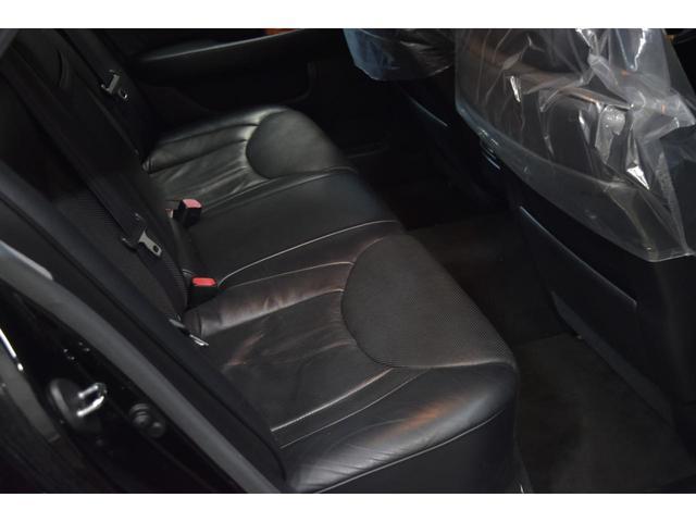 レクサス レクサス LS430 左H トラフィックスター20AW 黒革 SR 車高調
