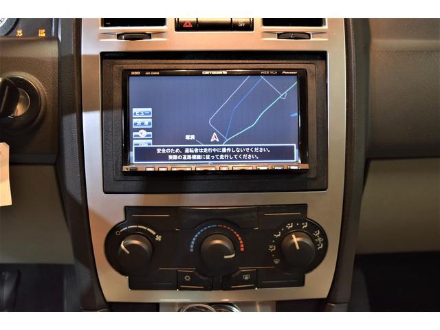 クライスラー クライスラー 300 06y 本革 社外エアサス エアロ 22AW 社外HDDナビ