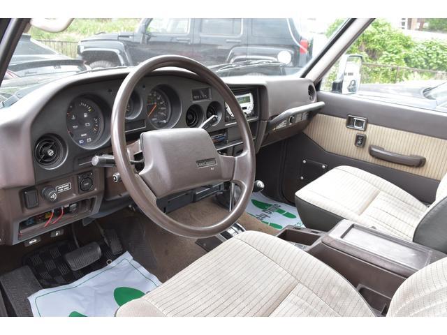米国トヨタ ランドクルーザー ランクル60左ハンドル 全塗装済 1ナンバー メッキバンパー