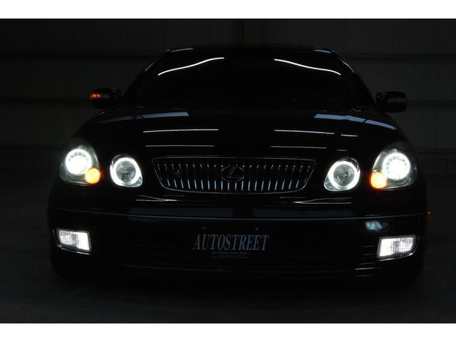 米国レクサス レクサス GS300 左H 新品車高調 社外19AW 黒革 SR 社外ヘッドライト