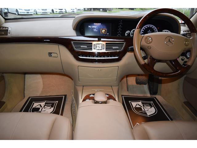 メルセデス・ベンツ M・ベンツ S550 D車 WALDエアロ20AW 4本出マフラー 革席