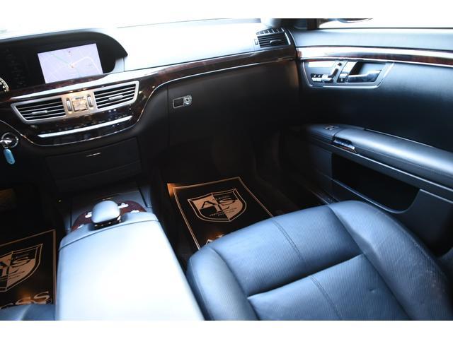 S550ロング AMGスポパケ 黒革SR 左H 後期63仕様(13枚目)