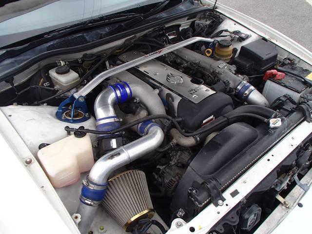 トヨタ チェイサー ツアラーV 車高調 フルエアロ 18インチアルミホイール