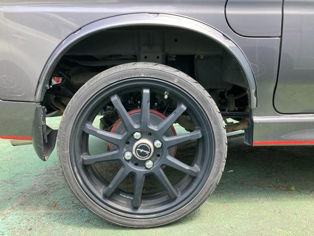 G 4WD 普通車登録 オーバーフェンダー 16インチアルミホイール キーレスエントリー ローダウン ナビ付 5速MT(10枚目)