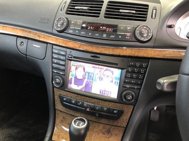メルセデス・ベンツ M・ベンツ E320 CDI アバンギャルド 最終型 HDDナビ 地デジ