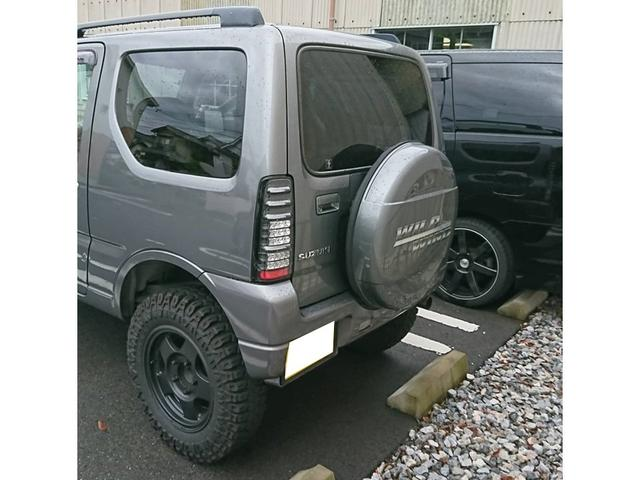 スズキ ジムニー ワイルドウインド 軽自動車 4WD リフトアップ 背面タイヤ